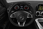 Car pictures of steering wheel view of a 2016 Mercedes Benz AMG-GT AMG-GT-S 3 Door Coupe Steering Wheel