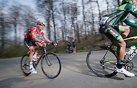 Lars Bak (DNK/Lotto-Belisol) up La Houppe (max 10%)<br /> <br /> 57th E3 Harelbeke 2014