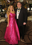 """Quincy Seigel and Drew Charpentier at the San Luis Salute """"Hollywood Dinner Club"""" in Galveston Friday Feb. 09,2018. (Dave Rossman Photo)"""