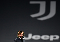 Football Soccer: Tim Cup Semi Finals second leg Juventus vs InternazionaleMilan, Allianz Staium Stadium in Turin, on February 9, 2021.<br /> Juventus' coach Andrea Pirlo prior to the Italian Tim Cup Semi Final match between Juventus vs Inter at Allianz Staium Stadium in Turin, on February 9, 2021.<br /> UPDATE IMAGES PRESS/Isabella Bonotto