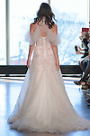"Model Katya walks runway in a ""Ginger"" bridal gown from the Rivini Spring Summer 2017 bridal collection by Rita Vinieris at The Standard Highline Room, during New York Bridal Fashion Week on April 15, 2016."