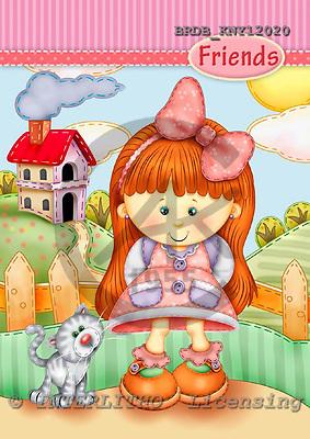 Kinder, niños, illustrations, pinturas ,everyday