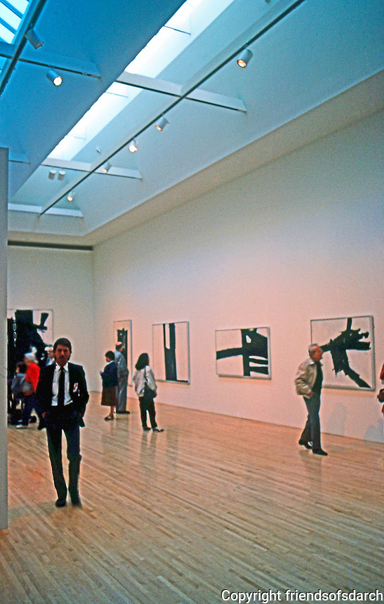 Los Angeles: Museum of Contemporary Art--Interior. Arata Isozaki. Photo '87.