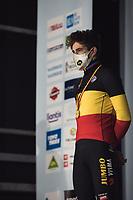 Wout van Aert (BEL/Jumbo-Visma) wins his 4th Belgian National Cyclocross Championships Title<br /> <br /> Elite Men's Race<br /> Belgian National CX Championships - Meulebeke 2021<br /> <br /> ©kramon