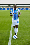Allan Romeo Nyom during his official presentation at Instalacion Deportiva Butarque in Leganes, Spain. August 22, 2018. (ALTERPHOTOS/A. Perez Meca)