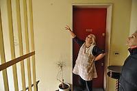 """- Milano, quartiere delle case popolari ALER di via Salomone; le """"Case bianche"""" lotto 64<br /> <br /> - Milano, district of public housing ALER in Salomone street; the """"White Houses"""" Lot 64"""