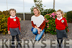 The two new junior infants from Miss Fitzgerald's class in Derryquay NS.