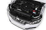 Car stock 2018 Renault Alaskan Foraker 4 Door Pick Up engine high angle detail view