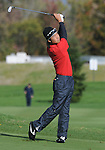 3 October 2008: Kevin Na hits an approach shot during the second round at the Turning Stone Golf Championship in Verona, New York.
