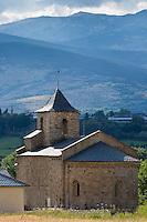 Europe/France/Languedoc-Roussillon/66/Pyrénées-Orientales/Cerdagne/Bourg-Madame:  L'église Saint-Martin d'Hix  est une église romane située au hameau d'Hix
