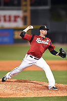 Nashville Sounds pitcher Dustin Molleken (31) delivers a pitch during the second game of a double header against the Omaha Storm Chasers on May 21, 2014 at Herschel Greer Stadium in Nashville, Tennessee.  Nashville defeated Omaha 13-4.  (Mike Janes/Four Seam Images)
