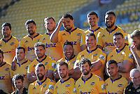 150508 Super Rugby - Hurricanes Team Photo