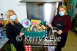Colette Price and Mary Dolan of the Tralee Soup Kitchen appealing for non perishable goods for their food hampers.