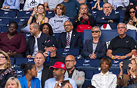 PARIS,  - JUNE 16: US Soccer President Carlos Cordeiro sits in the stands during a game between Chile and USWNT at Parc des Princes on June 16, 2019 in Paris, France.