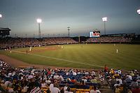 NCAA Baseball, Rosenblatt Stadium, College World Series. Photo by Andrew Woolley / Four Seam Images...