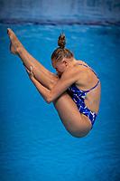 GULLSTRAND Emma SWE <br /> Diving - Women's 3m preliminary<br /> XXXV LEN European Aquatic Championships<br /> Duna Arena<br /> Budapest  - Hungary  15/5/2021<br /> Photo Giorgio Perottino / Deepbluemedia / Insidefoto