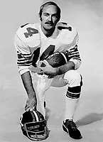 Jerry Keeling Ottawa Rough Riders quarterback. Copyright photograph Ted Grant