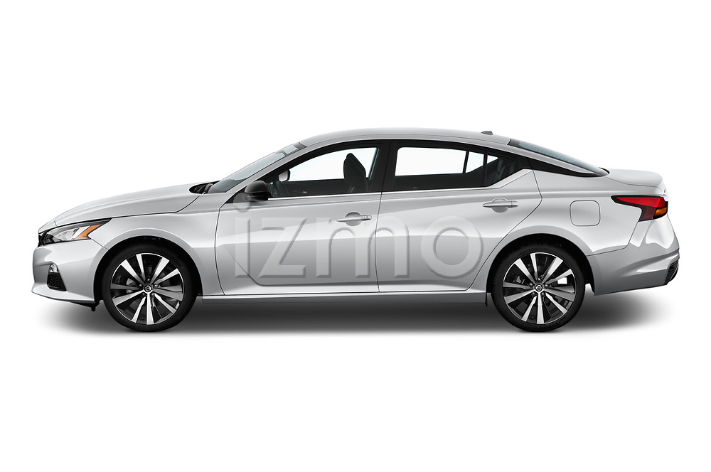 Car Driver side profile view of a 2020 Nissan Altima SR-FWD 4 Door Sedan Side View