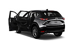 Car images close up view of a 2018 Mazda CX-5 Sport 5 Door SUV doors