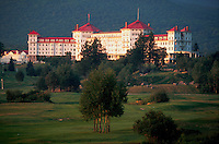 Exterior of the Mt. Washington Hotel. Bretton Woods, New Hampshire.