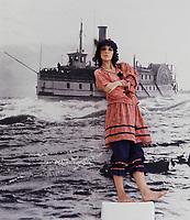 Portrait exclusif de l'actrice<br /> Carole Laure<br /> , vers 1984<br /> (Date inconnue)<br /> <br /> PHOTO :  Dumouchel - Publiphoto -  Agence Quebec Presse