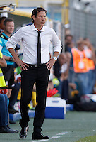 Calcio, Serie A: Frosinone vs Roma. Frosinone, stadio Comunale, 12 settembre 2015.<br /> Roma's coach Rudi Garcia during the Italian Serie A football match between Frosinone and Roma at Frosinone Comunale stadium, 12 September 2015.<br /> UPDATE IMAGES PRESS/Isabella Bonotto