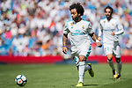 Marcelo Vieira da Silva Junior of Real Madrid in action during the La Liga match between Real Madrid and Levante UD at the Estadio Santiago Bernabeu on 09 September 2017 in Madrid, Spain. Photo by Diego Gonzalez / Power Sport Images