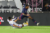 FORT LAUDERDALE, FL - DECEMBER 09: Kellyn Acosta #10 of the United States moves with the ball during a game between El Salvador and USMNT at Inter Miami CF Stadium on December 09, 2020 in Fort Lauderdale, Florida.