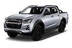 2021 Isuzu D-Max V-Cross 4 Door Pick-up Angular Front automotive stock photos of front three quarter view