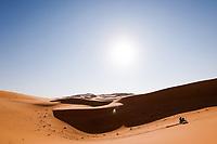 5th January 2021; Dakar Rally stage 3; #Illustration, motorbike during the 3rd stage of the Dakar 2021 between Wadi Al Dawasir and Wadi Al Dawasir, in Saudi Arabia on January 5, 2021