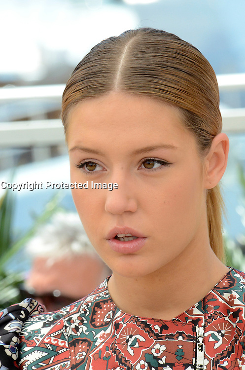 Adele Exarchopoulos attends ' the last face' Photocall durig The 69th Annual Cannes Film Festival on May 20, 2016 in Cannes