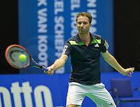 Rotterdam, Netherlands, December 19, 2015,  Topsport Centrum, Lotto NK Tennis, Matwe Middelkoop (NED)<br /> Photo: Tennisimages/Henk Koster