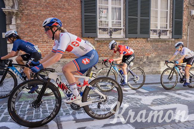 Alice Barnes (GBR/Canyon SRAM) up the Sint-Antoniusberg<br /> <br /> Women Elite – Road Race (WC)<br /> Race from Antwerp to Leuven (157.7km)<br /> <br /> ©kramon