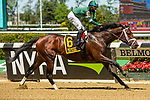 MAY 01, 2021 : Dr. Post with Manuel Franco aboard, wins the Gr. 3 Westchester Stakes, at 1  mile, at Belmont Park, Elmont, NY. Sue Kawczynski-Eclipse Sportswire-CSM