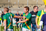 Dougie Fitzell, Kilmoyley Kilmoyley players celebrate after winning the Kerry County Senior Hurling Championship Final match between Kilmoyley and Causeway at Austin Stack Park in Tralee