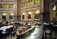 Washington D.C.:  Library of Congress--Reading Room. Photo '85.