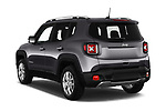 Car pictures of rear three quarter view of a 2018 Jeep Renegade Limited 5 Door SUV angular rear