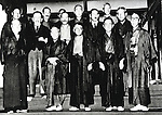 Undated - Kisaburo Suzuki, stands on the center was a Japanese Politician in Taisho, Showa Period.  (Photo by Kingendai Photo Library/AFLO)
