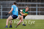David Moran, Kerry in action against Brian Fenton, Dublin during the Allianz Football League Division 1 South between Kerry and Dublin at Semple Stadium, Thurles on Sunday.