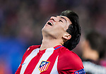 Nicolas Gaitan of Atletico de Madrid reacts during their 2016-17 UEFA Champions League Round of 16 second leg match between Atletico de Madrid and Bayer 04 Leverkusen at the Estadio Vicente Calderon on 15 March 2017 in Madrid, Spain. Photo by Diego Gonzalez Souto / Power Sport Images