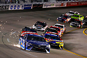 Monster Energy NASCAR Cup Series<br /> Federated Auto Parts 400<br /> Richmond Raceway, Richmond, VA USA<br /> Saturday 9 September 2017<br /> Martin Truex Jr, Furniture Row Racing, Auto-Owners Insurance Toyota Camry and Kyle Busch, Joe Gibbs Racing, M&M's Caramel Toyota Camry<br /> World Copyright: Russell LaBounty<br /> LAT Images