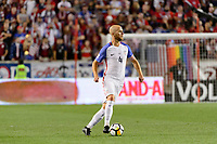 Harrison, NJ - Friday Sept. 01, 2017: Michael Bradley during a 2017 FIFA World Cup Qualifier between the United States (USA) and Costa Rica (CRC) at Red Bull Arena.