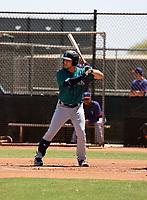 Zach DeLoach - Seattle Mariners 2021 spring training (Bill Mitchell)