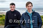 Enjoying a stroll in Ballybunion on Saturday, l to r: Daniel Ellis and Cillian Walsh.