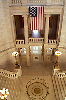 State House, State Capitol, Providence, Rhode Island, RI, The interior of The Rhode Island State House in the Capital City of Providence.
