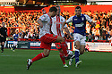 Luke Freeman of Stevenage crosses<br />  Stevenage v Ipswich Town - Capital One Cup First Round - Lamex Stadium, Stevenage - 6th August, 2013<br />  © Kevin Coleman 2013