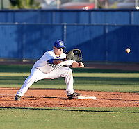Jake Williams, South Mountain Community College Cougars, in action against the  Chandler-Gilbert Community College Coyotes at South Mountain CC, Phoenix, AZ - 02/11/2011. Williams is the son of former major league player Matt Williams.Photo by:  Bill Mitchell/Four Seam Images.