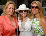 Jennifer Moses, Sherri Davis and Evans Christ at the River Oaks International Tennis Tournament Luncheon at the River Oaks Country Club Wednesday April 16,2008. (Dave Rossman/For the Chronicle)
