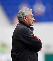 Leonardo Cuellar. The USWNT defeated Mexico, 1-0, during the game at Red Bull Arena in Harrison, NJ.