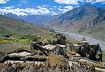 Dhankar, Himachal Pradesh, India, August 2001.